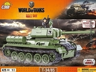 Cobi Worlds of Tanks 3005 T34/85