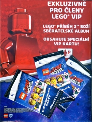 Lego Movie VIP album