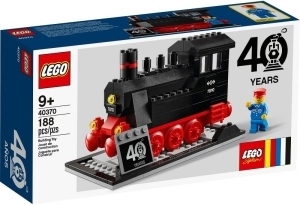 Lego 40370 STEAM ENGINE