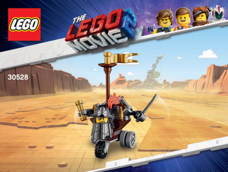 Lego Movie 30528 Kovovousova stavebnice 3v1