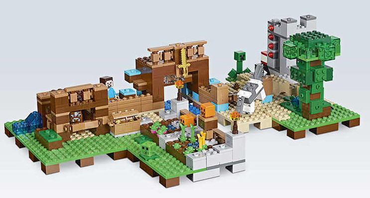 Lego Minecraft 21135 Kreativní box 2
