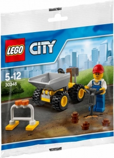 Lego City 30348 Mini nakladač
